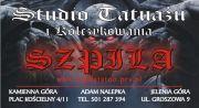 """Adam""""SZPILA""""  Studio Tatuażu i Kolczykowania Jelenia Góra"""