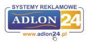 Adlon24.pl - Roll-upy, Stojaki na ulotki. Systemy reklamowe