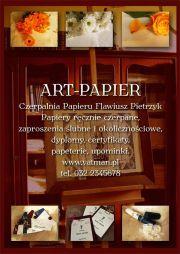 ART-PAPIER Czerpalnia Papieru Flawiusz Pietrzyk