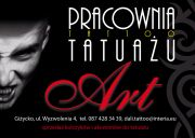 Art Pracownia Tatuażu Artystycznego