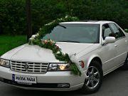 Auto Do Ślubu Cadillac Seville STS , biała perła