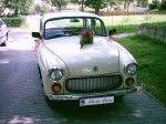 Auto do ślubu - Syrena 105 l