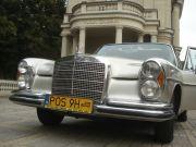 Auto do ślubu Szczecin Mercedes w108