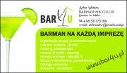 Bar4u/ Barman na Wesele -na każdą imprezę.