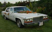 Biały Cadillac do ślubu