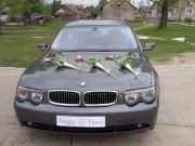 Bmw 735i wesele, przyjęcia okolicznościowe