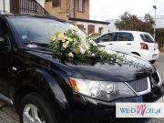Bukiet ślubny, wiązanka slubna, dekoracja sali weselnej, dekoracja auta