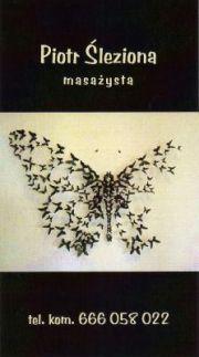 BUTTERFLY BODY MASSAGE - Piotr Śleziona