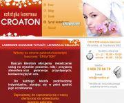 .:Croaton:. Laserowe usuwanie tatuażu, cellulitu - RF, sprzęt kosmety