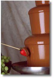 czekoladowe fontanny Joanna Nazaruk