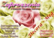 Decora-Meg Zaproszenia i Dodatki Ręcznie Robione