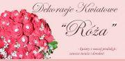 Dekoracje kwiatowe Róża