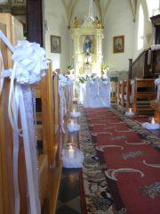 dekoracje ślubne - kościoły, sale, transport - Wrocław i ok.