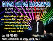 Dj Bart na wesele Białystok Ełk Giżycko Augustów
