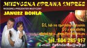 DJ Janusz DJ na wesele wodzirej muzyczna oprawa imprez