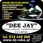 """DJ na wesele  DJ Wrocław DJ Dolnośląskie """"DEE  JAY"""" DJ  Robo"""