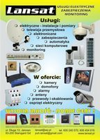 Elektryk instalacje serwis  domofony kamery anteny