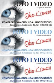 "Foto i Video ""Oko kamery"" Krzysztof Molenda"