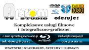 Fotografia i filmowanie HD i 3D montaż i grafika