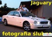 Fotografia ślubna + wynajem samochodu do ślubu - Jaguar
