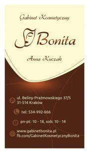 """Gabinet kosmetyczny """"Bonita"""""""