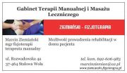 Gabinet Terapii Manualnej i Masażu Leczniczego