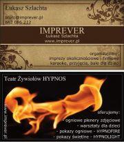 IMPREVER - Teatr żywiołów HYPNOS pokazy ogniowe - fireshow