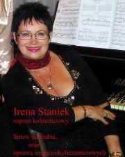 Irena Staniek - Śpiew na ślubie i oprawa muzyczna imprez okolicznościowych.