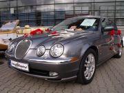 Jaguar do slubu. limuzyna. auto do slubu. wynajem samochodu