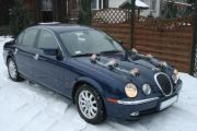 Jaguar S-Type do ślubu