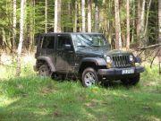 Jeep Wrangler- auto do ślubu