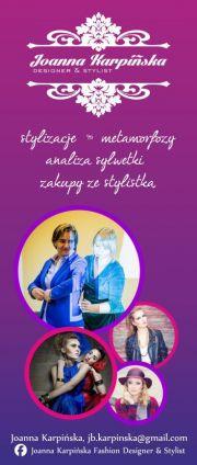 Joanna Karpińska Fashion desinger & stylist
