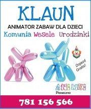 KLAUN animator zabaw dla dzieci