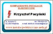 Kompleksowe instalacje elektryczne - Poznań, Września