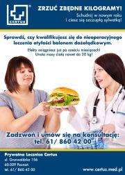 Leczenie otyłości - Prywatna Lecznica Certus
