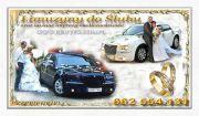 Limuzyny do ślubu auta ślubne samochody na wesele