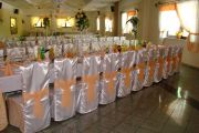 Mag-Decor dekoracje ślubne weselne sal, pokrowce Ciechanów
