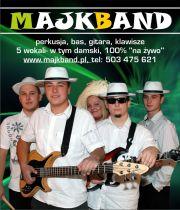 "MAJKBAND- Muzyka ""na żywo"""