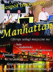 """""""Manhattan"""" zespół muzyczny"""