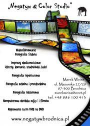 """Marek Weiss """"Negatyw&Color Studio"""" / fotografia i filmowanie"""