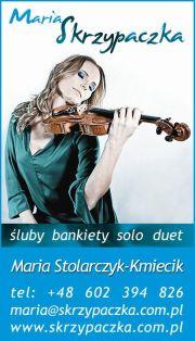 Maria Skrzypaczka - muzyka na ślub, bankiet - Trójmiasto