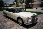 mercedes do ślubu, limuzyna której dorównuje jedynie maybach