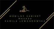 Mobilny gabinet masażu- Kamila Lewandowska