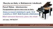 muzyka na śluby i chrzty najtaniej w Bełchatowie i okolicach