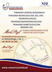 """NZOZ Centrum Medyczne """"Warszawska"""""""