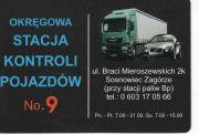 Okręgowa Stacja Kontroli Pojazdów No.9 Sosnowiec