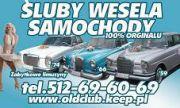 Oldclub69 - Samochód Zabytkowy, limuzyna Retro, Mercedes Śląskie 0512 69 60 69