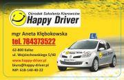OSK Happy Driver Aneta Kłębokowska