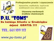 P.U.TOMS Pranie dywanów,tapiceek meblowych