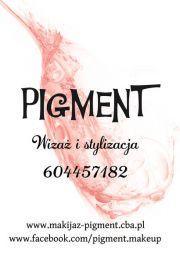 """""""Pigment"""" Wizaż i stylizacja"""